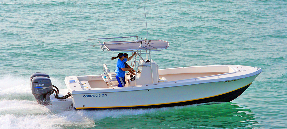 Best Center Console Fishing Boats Competition Boats