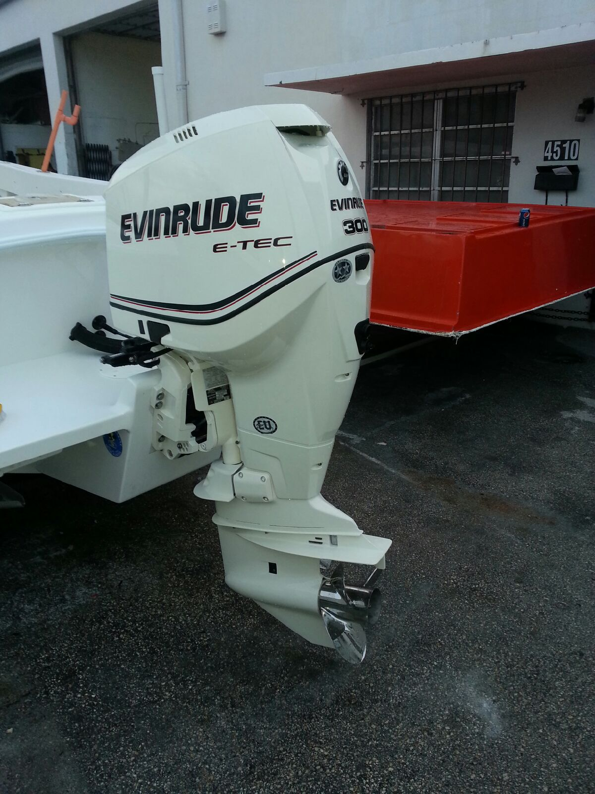 25′ Center Console With 300hp Evinrude Etec | Competition Boats